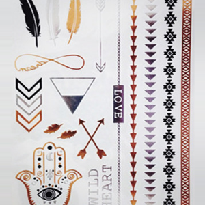 Wild Heart Flash Tattoos