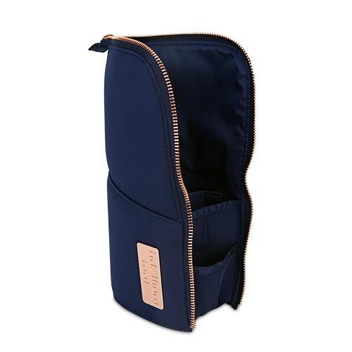 golden triangle stand pouch