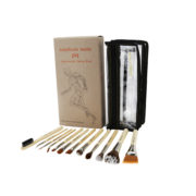 SFX BRUSH SET 12 PC. WITH DOUBLE POUCH (2ND COLLECTION)