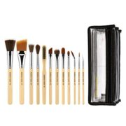 SFX BRUSH SET 12 PC. WITH DOUBLE POUCH (1ST COLLECTION)