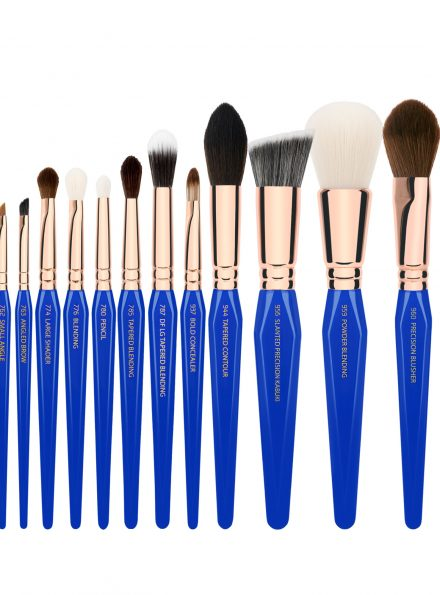 BDELLIUM TOOLS GOLDEN TRIANGLE PHASE II COMPLETE 15PC. BRUSH SET WITH POUCH