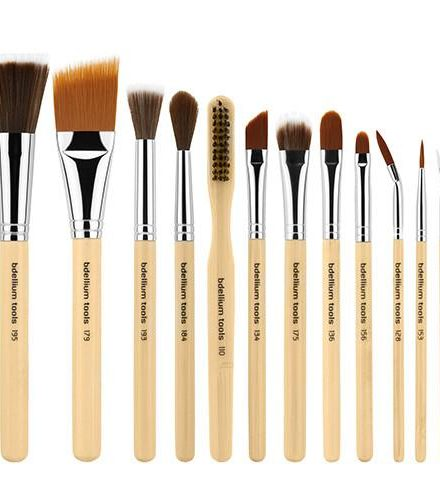 SFX BRUSH SET 12 PC. WITH DOUBLE POUCH