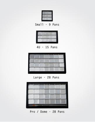 SQUARE METAL PANS (10PACK)