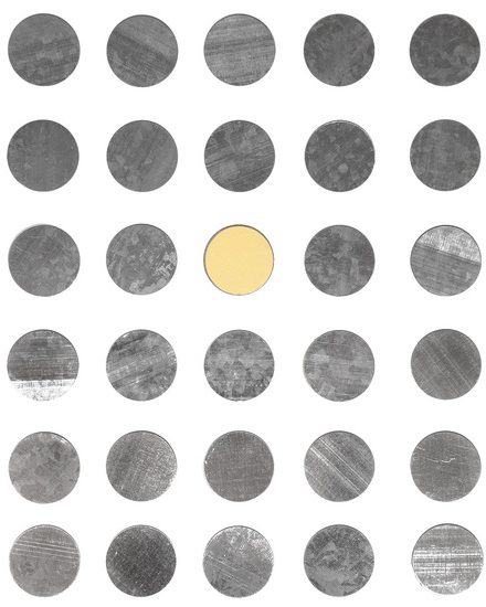 ROUND METAL STICKERS (30PACK)