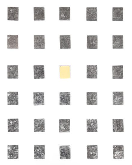 SQUARE METAL STICKERS (30PACK)